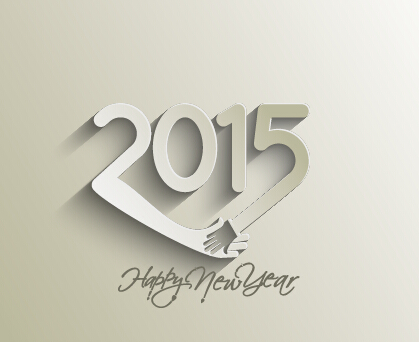 Creative 2015 New Year Background Material Set 07