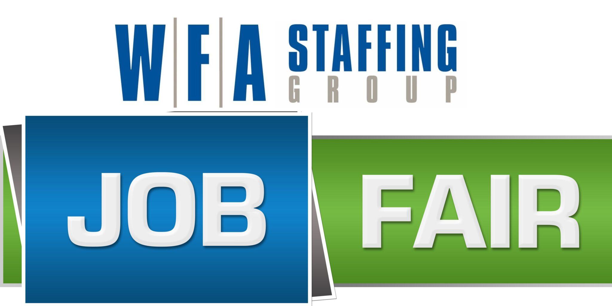 WFA Job Fair Shuttterstock Image 2 18 2021